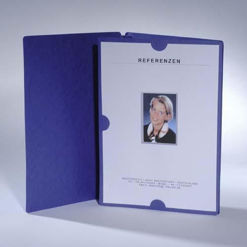 3er Bewerbungs-Set mit Mappen /& Versandtaschen grau schwarz