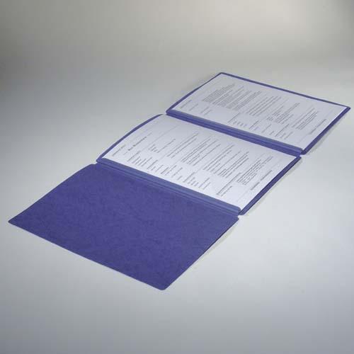 Klemmschienen /& Premium-Karton 3 Bewerbungsmappen blau *günstiges Set* 3-tlg.
