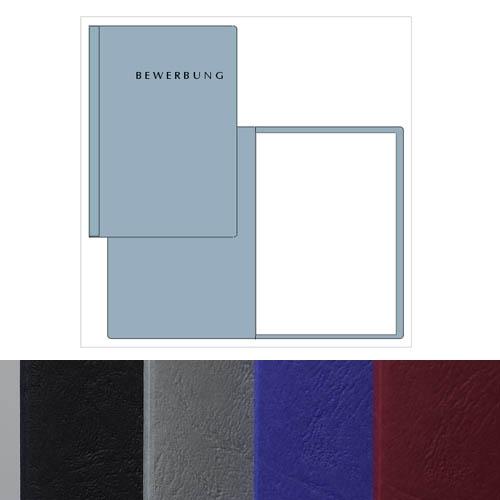 pagna start zweiteilige bewerbungsmappen freie farben. Black Bedroom Furniture Sets. Home Design Ideas