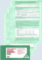 Arbeitsvertrag für Teilzeit-Beschäftigung (Nr. 508)