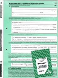 Arbeitsvertrag für gewerbliche Arbeitnehmer (Nr. 542)