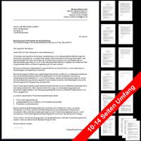 6 Bewerbungsvorlagen für Kaufleute für Versicherungen und Finanzen (auf Stellenanzeige und Initiativ)