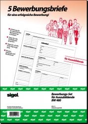 Sigel - Bewerbungsset für Auszubildende (Bewerbungsbriefe)