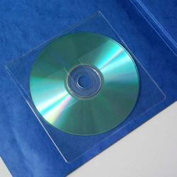 CD-Tasche mit Verschlusslasche