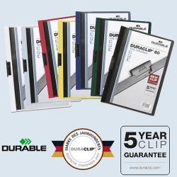 Duraclip 60 - Der Cliphefter für viele Bewerbungsunterlagen