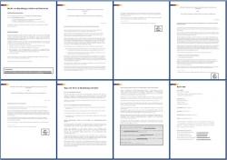Referenzschreiben: 3 x Referenzen von Professoren an Studenten