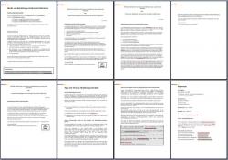 Referenzschreiben: 3 x Referenzen von Vorgesetzten an Mitarbeiter