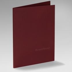 Premium-Set: 10 Executive Exclusiv-Bewerbungsmappen + 10 weiße B4-Versandtaschen + 10 Adressetiketten