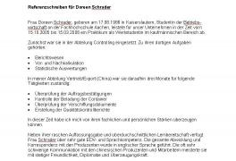 empfehlungsschreiben lehrer - Ecza.solinf.co