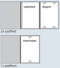 bewerbungsmappen im excelsior effect bewerbungsmappe bewerbungsmappen. Black Bedroom Furniture Sets. Home Design Ideas